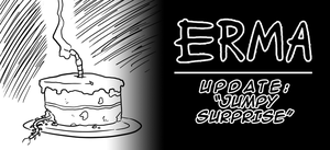 Erma Update- Jumpy Surprise by OUTCASTComix
