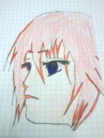 draw by Kiwi colored bye me (Kairi) by jasmin-uzumaki