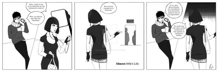 Almost Artists Life 1. by Elilustre