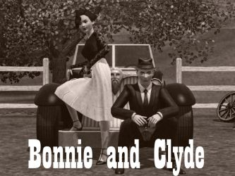 Bonnie and Clyde by DeathNote1qa