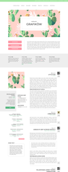 Blogger template Cactus by stupid-owl