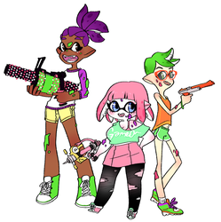 squid squad by mayakern