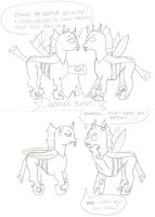 The Trouble With Changelings by Hazzdawg