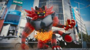 Pokemon Sun and Moon: Incineroar