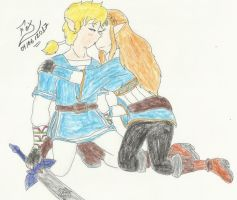 BOTW - Don't ever leave me again... by FoxBluereaver