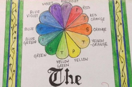 the colour wheel  by Ray18mariah