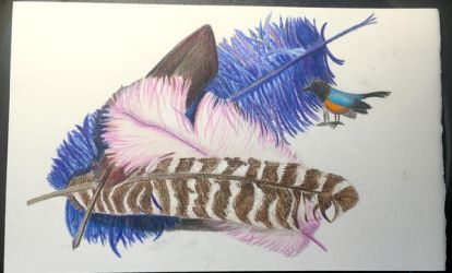 Melted Colored Pencil - Pencil Layer by tabbydragon14