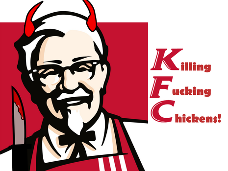 The Real KFC by StazeArt