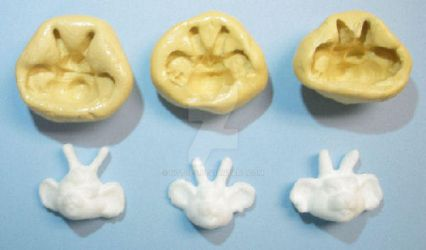 Biker Mice from Mars candy molds by notoes