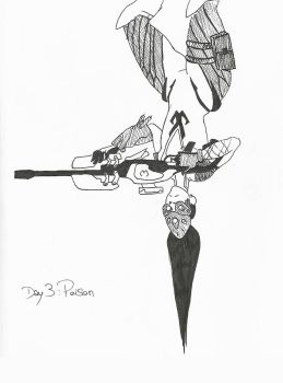 [Inktober2017] Day 3: Poison by hylidia