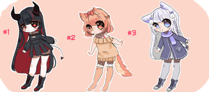 PENDING/CLOSED~ OTA adoptables by Miyunn