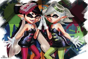 Callie and Marie by Will2Link