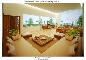 R2-Living and Gaming Room by Semsa