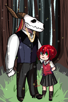 Ancient Magus' Bride by Moshlert