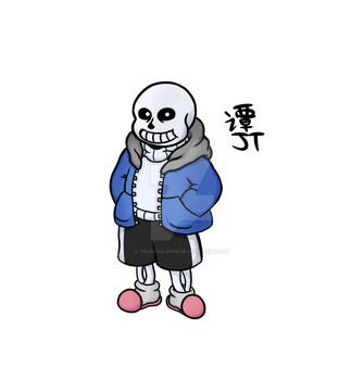 Sans (Digital) by PikachuJenn