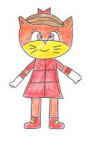 Fan cat character for Huatay's contest by dth1971