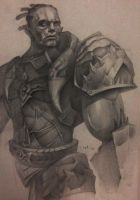Orc Fighter Tyrant by Ork-artist