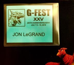 LeGrandzilla is at GFest! by Legrandzilla