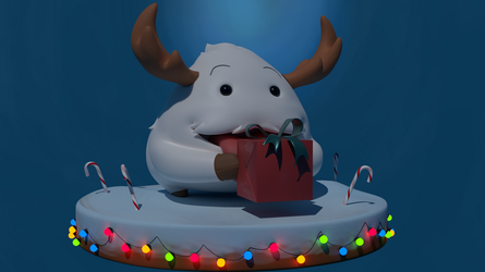 Christmas Poro - League of Legends by marilu597