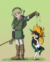 Link's Catch of the Day final by FiercerDeity