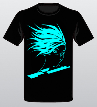 ''Spectra'' T-Shirt Template by SprinkleSprankles