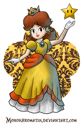 Her Royal Highness : Daisy Of Sarasaland by MonoKhromatik