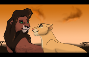 TLK - queen and her prince by Zandwine