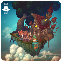 Home in the Clouds by Felideus
