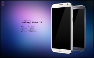 Samsung Galaxy Note 2 Slant PSD by danishprakash