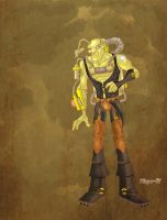 Steampunk monster by Salvador-Raga