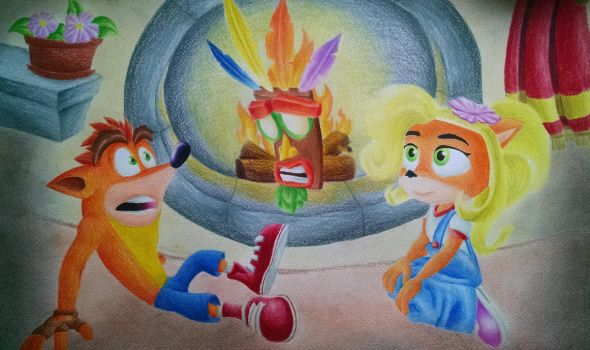Crash And Coco bandicoot listening stories by DSA09