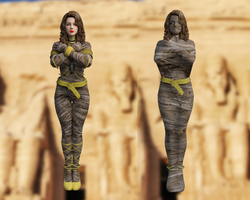 DOA5 LR Helena Mummification by shrestha2sanjay