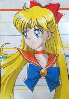 Sailor Venus by Karina-o-e