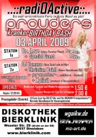 Prouders kranker Birthday Bash by sealreaper