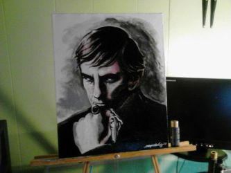 Barnabas Collins - Frid - canvas 2 by Shinjuchan