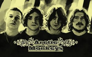 Arctic Monkeys wallpaper by kaio89