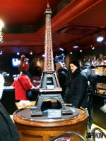 Chocolate Eiffel Tower by LEZARD-GRAPHIQUE