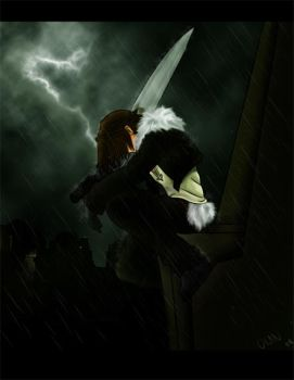 Squall: A thunderous Storm by OlanV8