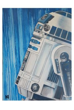 Finished R2D2 by sugarsart