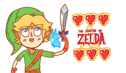 The Legend of Zelda by MidnightFrog