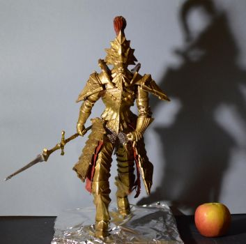 Dragon Slayer Ornstein Size Comparison by MichaelEastwood