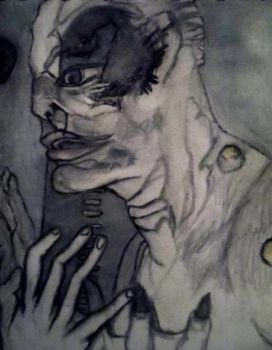 When he looks at me 2 (closer detail 2 of 2) by LivvieBrundle