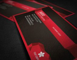 Edge corporate business card by Lemongraphic