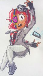 My new kid character Phone Destroyer by theguywhodrawsalot