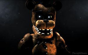 [C4D] Withered Freddy by DavidAl3man
