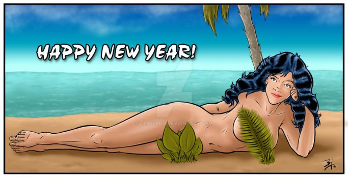 Happy New Year by TR1Byron