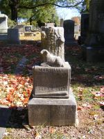Autumn Cemetery 36 by DKD-Stock