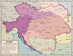 Map of the breakup of Austria-Hungary by mihaly-vadorgrafett