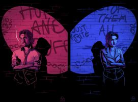 The Wolf Among Us by danielledemartini