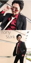 Tony Stark(4) by J1-junichi